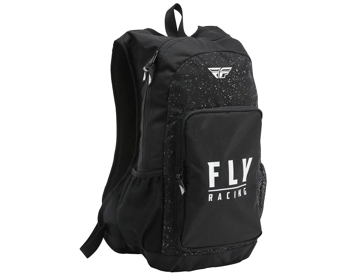 Fly Racing Jump Pack Backpack (Black/White Splatter)
