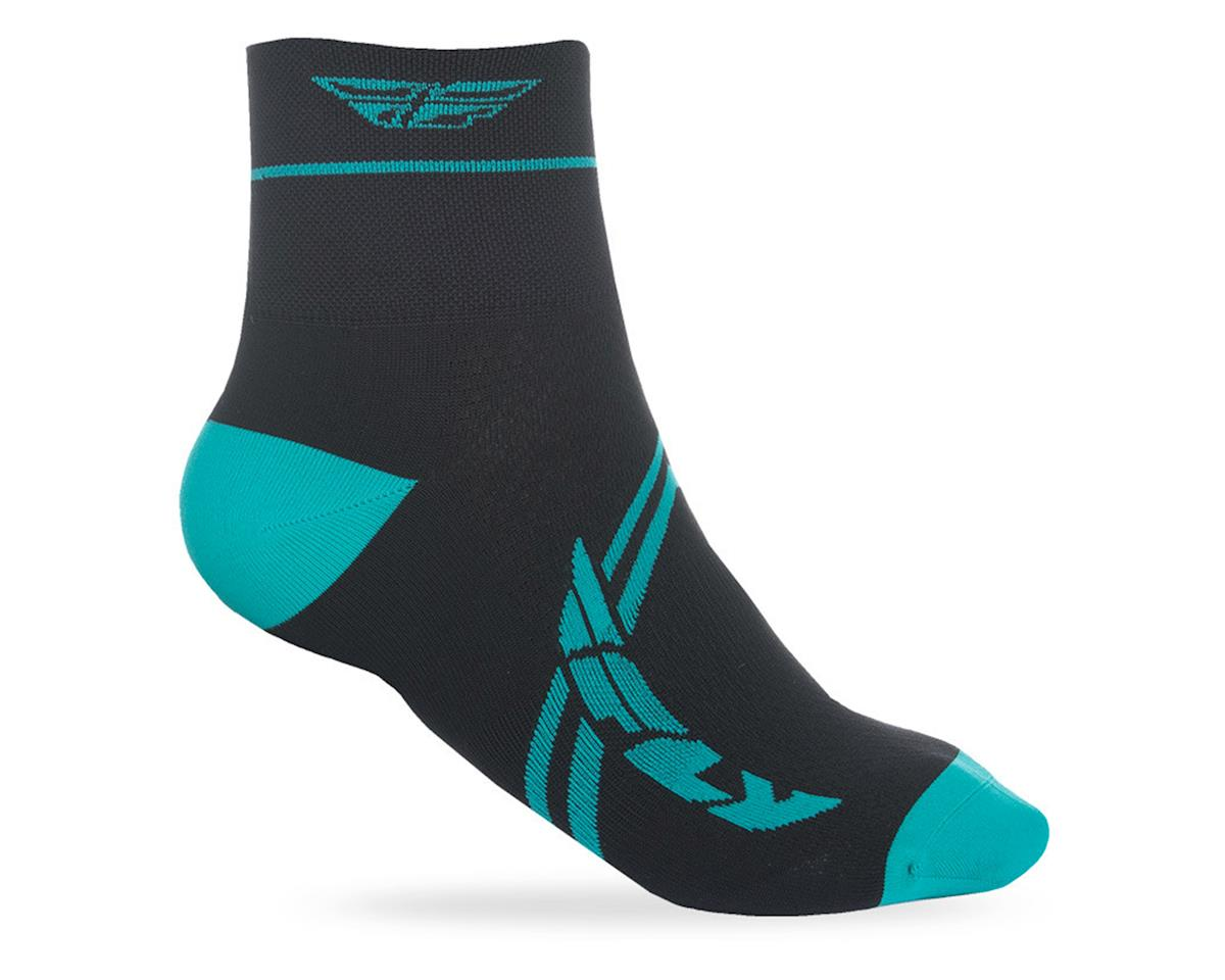 Fly Racing Action Sock (Teal/Black)