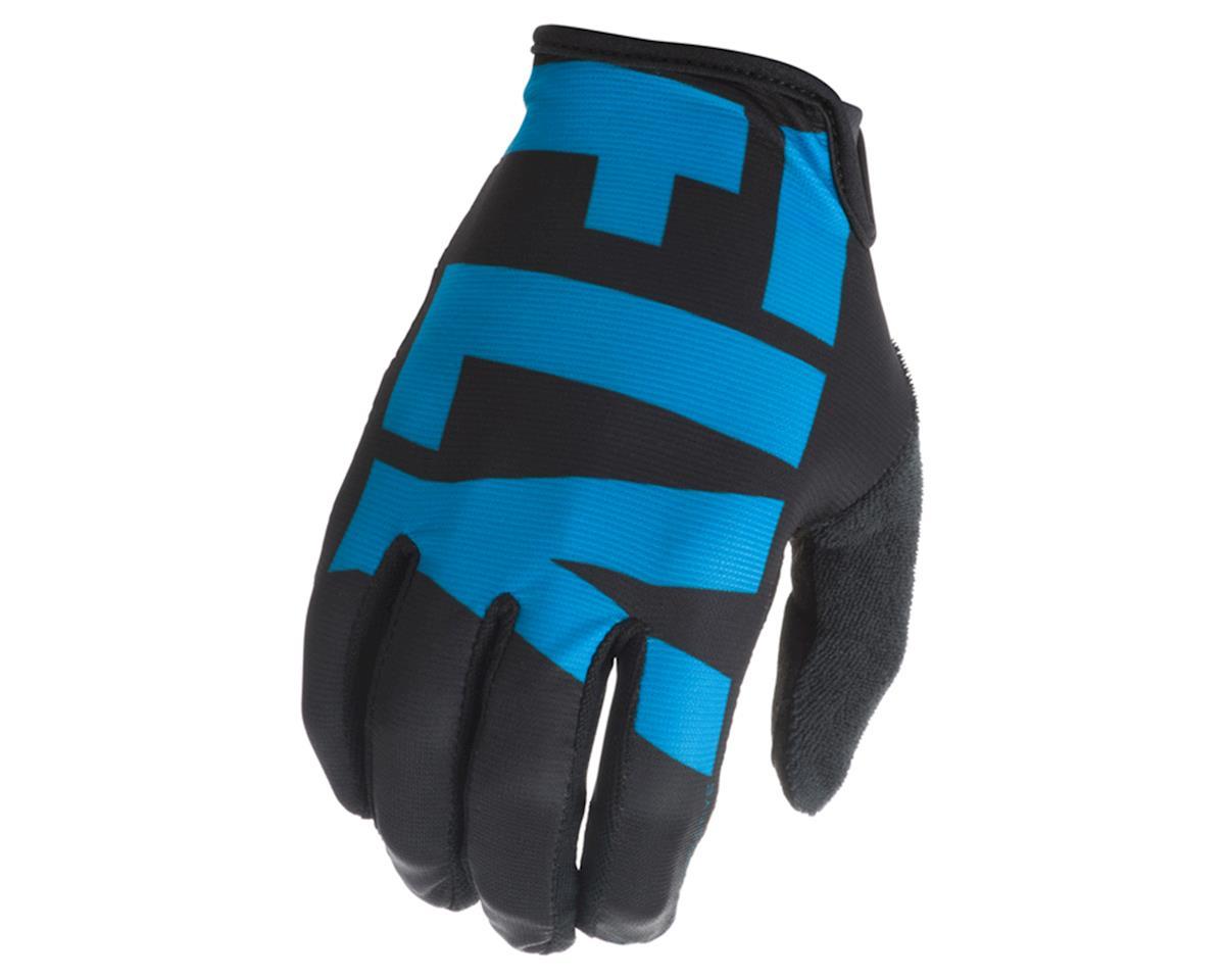 Fly Racing Media Cycling Glove (Blue/Black) (L)