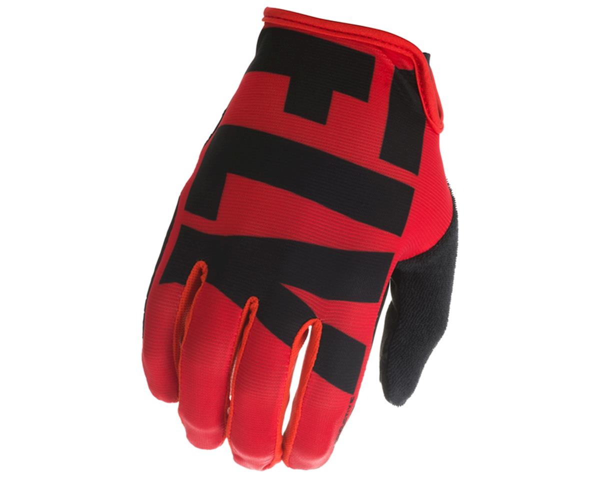 Fly Racing Media Cycling Glove (Red/Black) (XL)