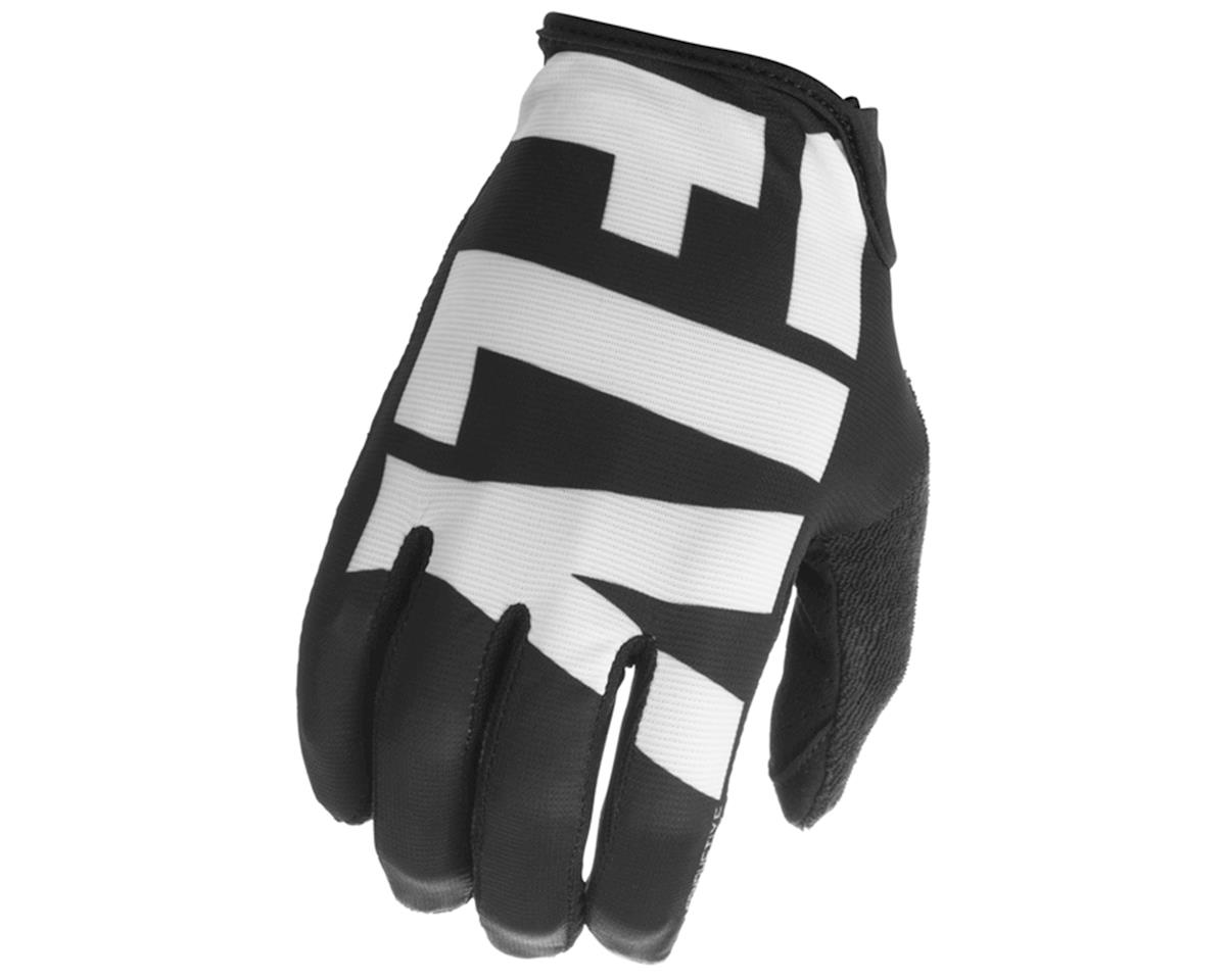 Fly Racing Media Cycling Glove (Black/white) (XL)