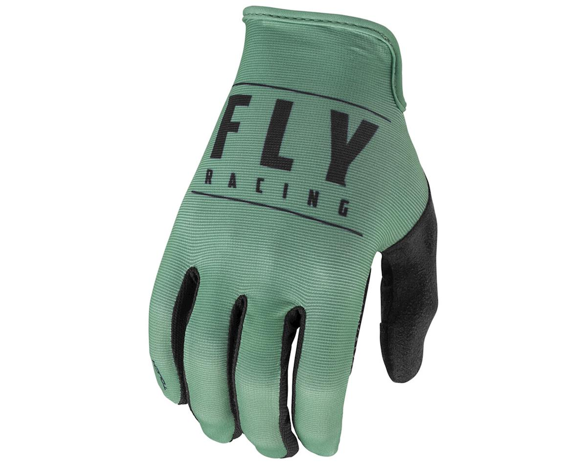 Fly Racing Media Glove (Sage/Black) (11)