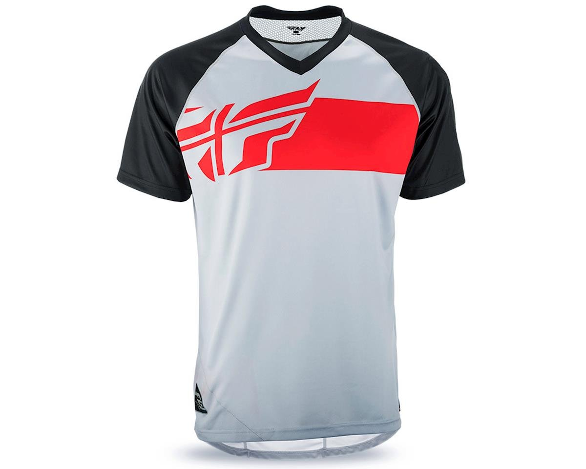 Fly Racing Fly Action Elite Jersey (Grey/Red/Black) (S)
