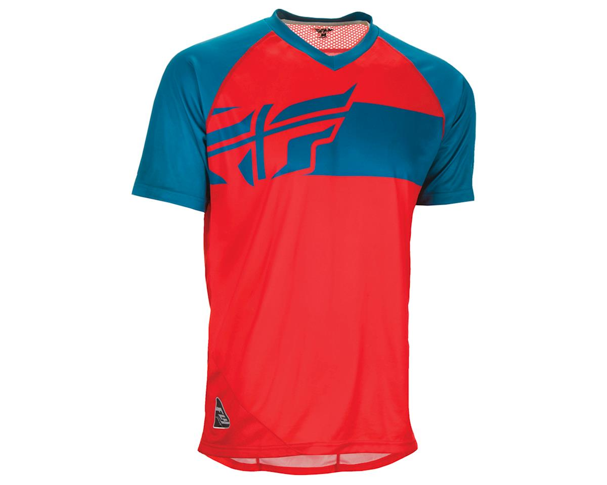 Fly Racing Fly Action Elite Jersey (Red/Dark Teal) (L)