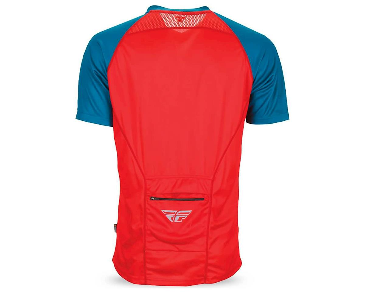 Fly Racing Fly Action Elite Jersey (Red/Dark Teal) (M)