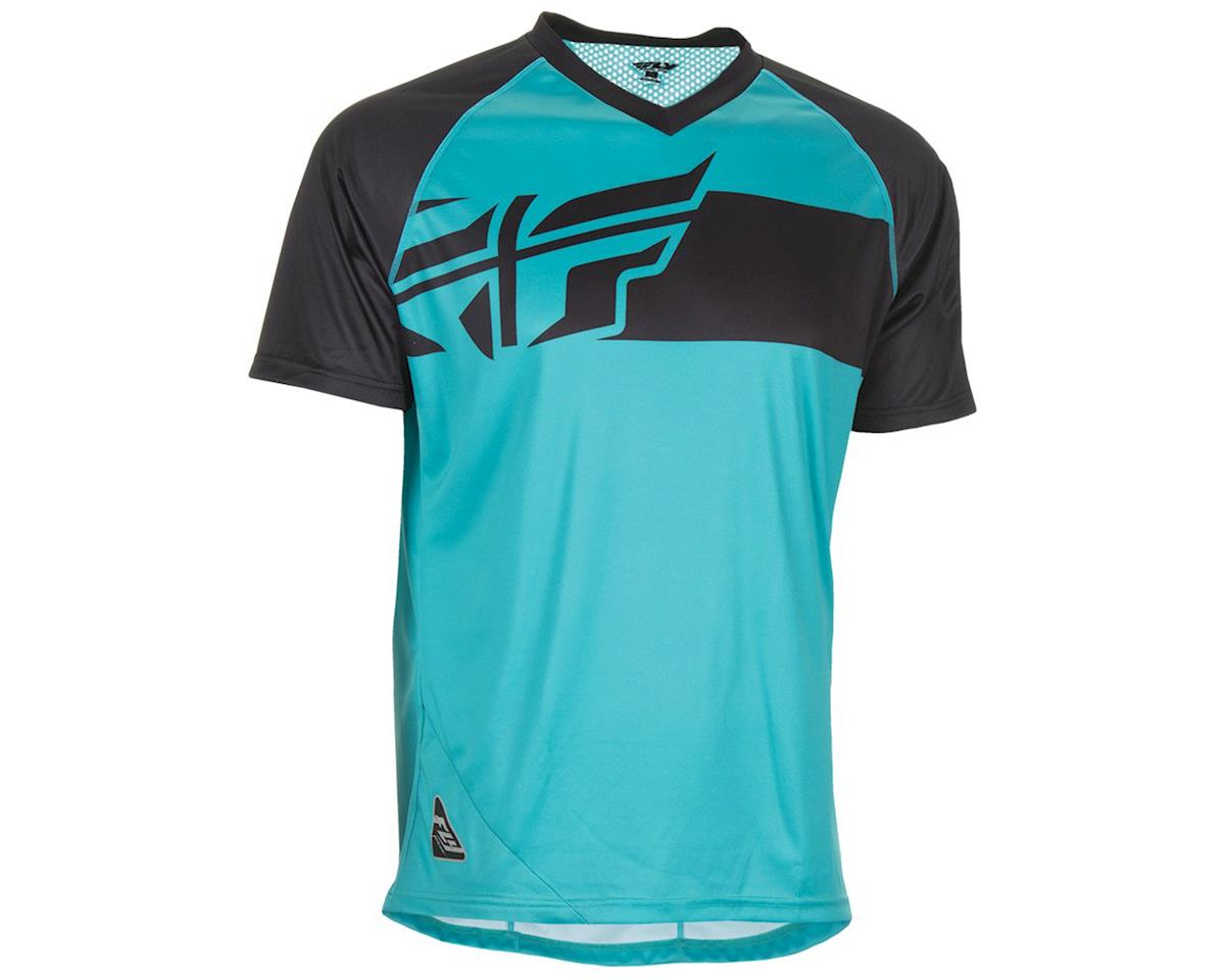Fly Racing Fly Action Elite Jersey (Teal/Black) (L)