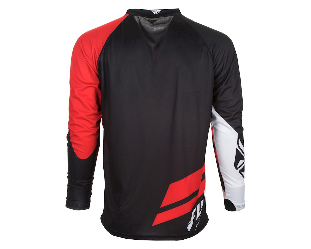 Image 2 for Fly Racing Radium Jersey (Red Black) (2XL)