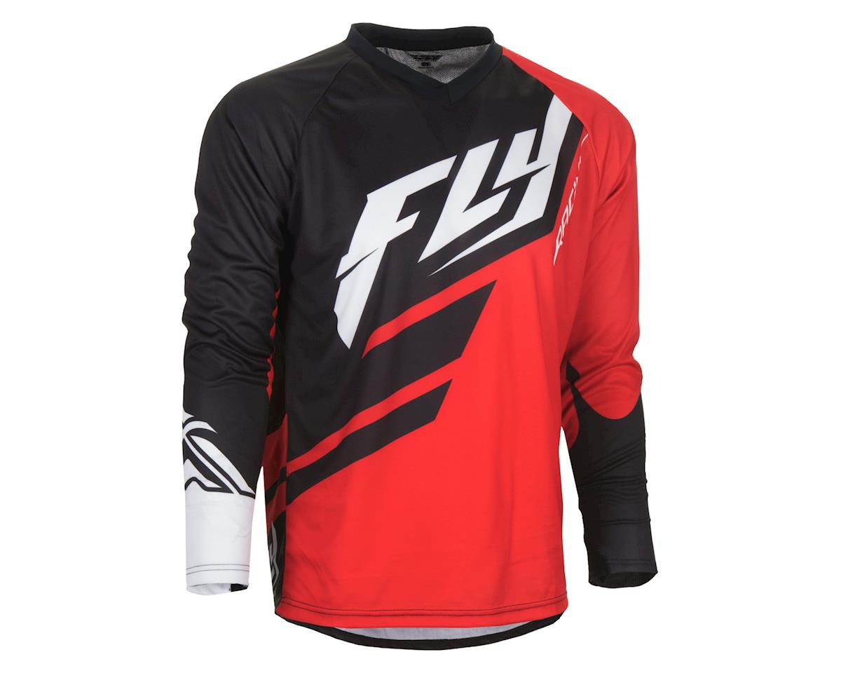 Fly Racing Radium Jersey (Red Black) (XL)