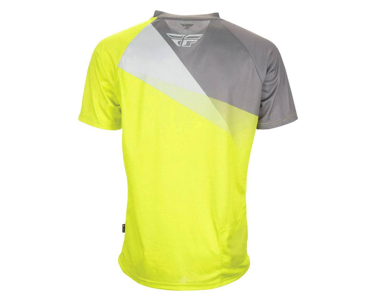 Fly Racing Super D Jersey (Yellow/Silver/Grey) (L)