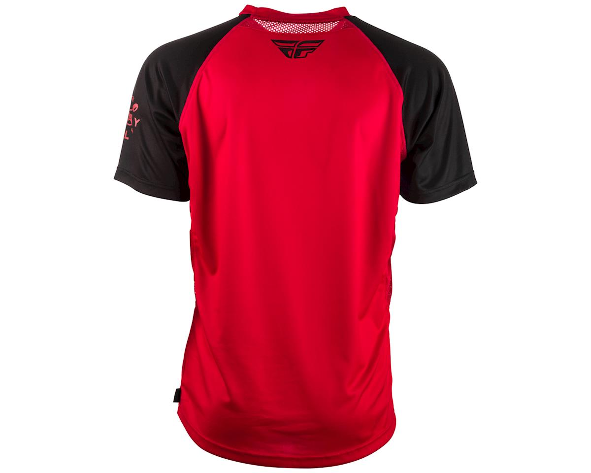 Fly Racing Super D Jersey (Red/Black) (M)
