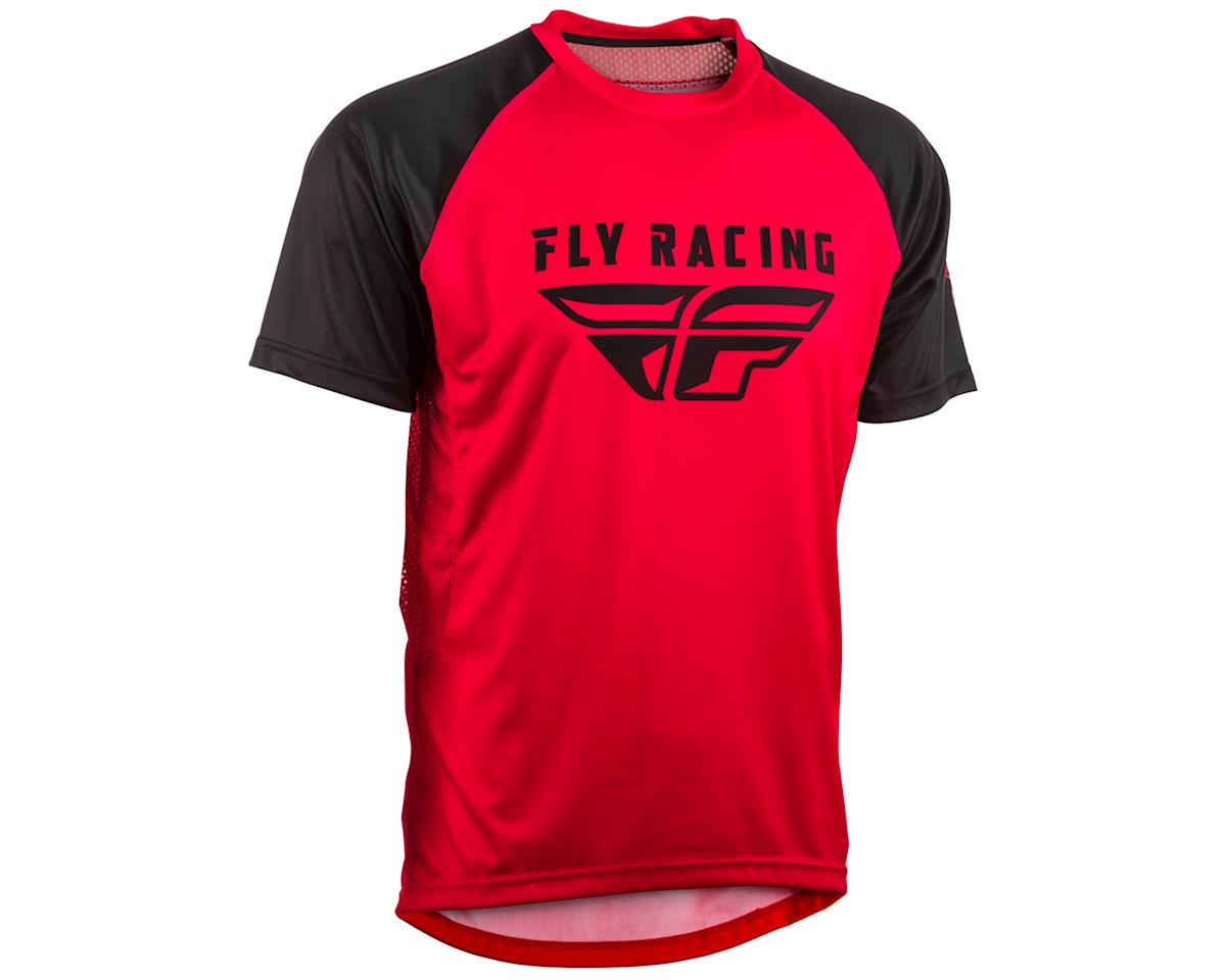Fly Racing Super D Jersey (Red/Black) (S)