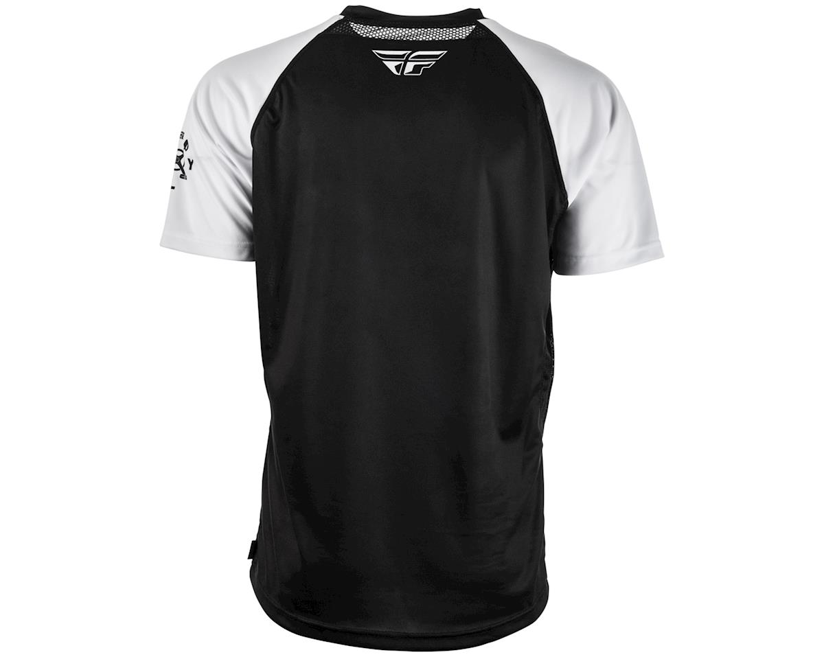 Fly Racing Super D Jersey (White/Black) (M)