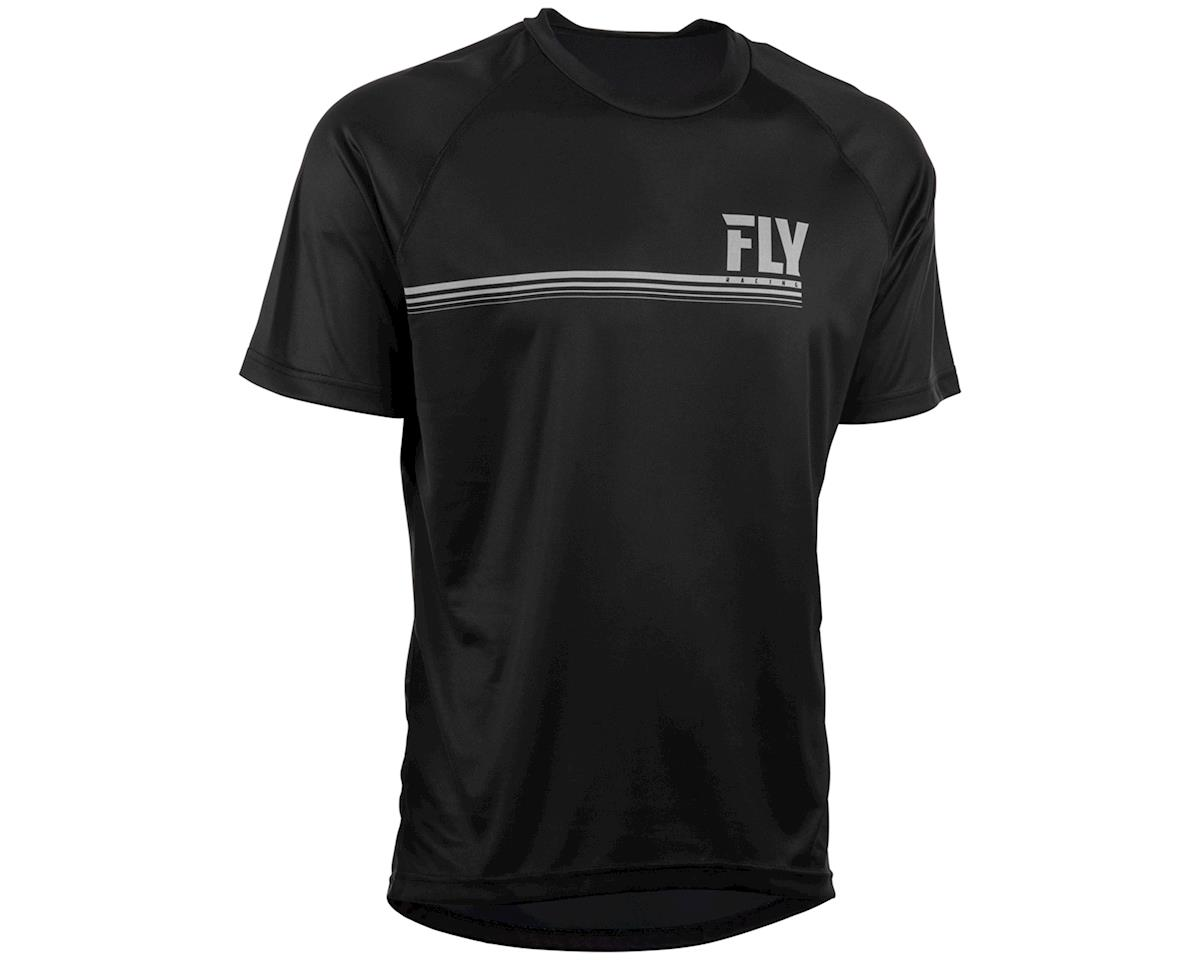 Fly Racing Action Jersey (Black) (XL)