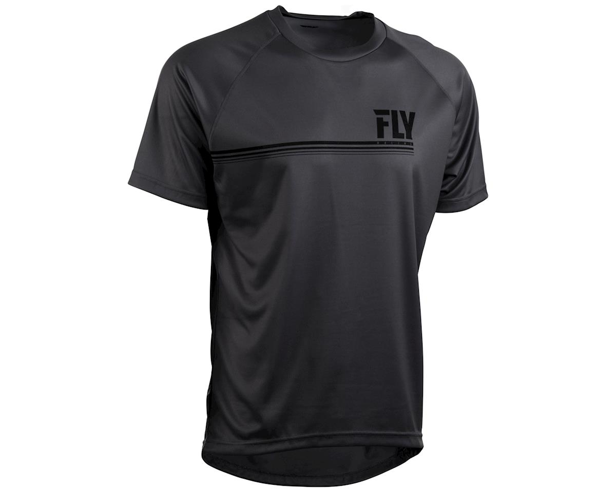 Fly Racing Action Mountain Bike Jersey (Charcoal Grey) (2XL)