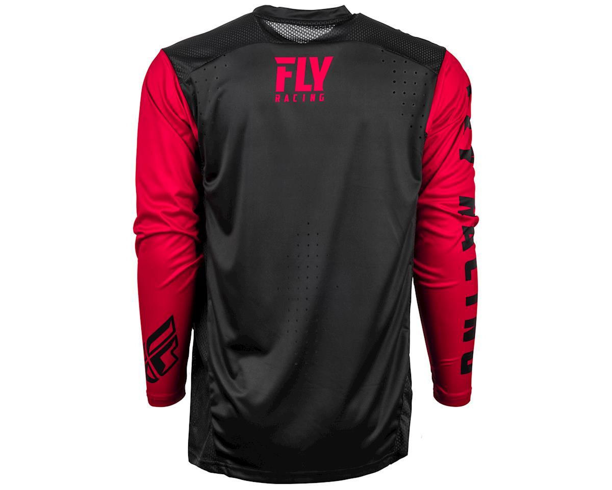 Fly Racing Radium Long Sleeve Jersey (Black/Red) (XL)