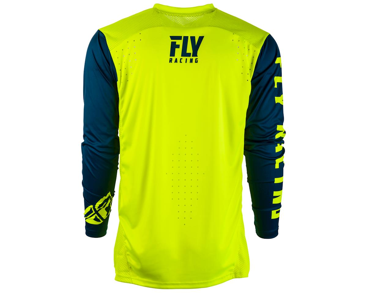 Fly Racing Radium Long Sleeve Jersey (Hi-Vis/Navy) (2XL)