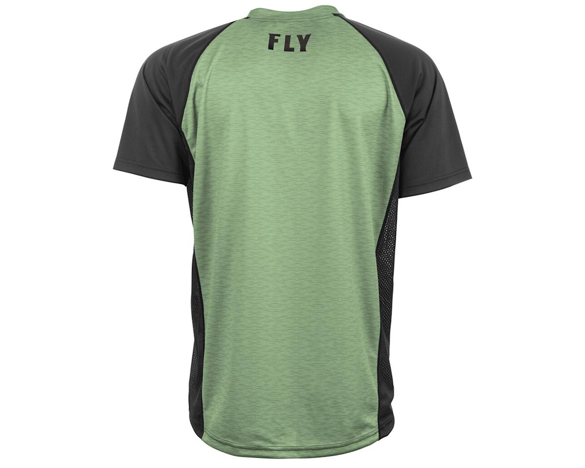 Image 2 for Fly Racing Super D Jersey (Sage Heather/Black) (M)
