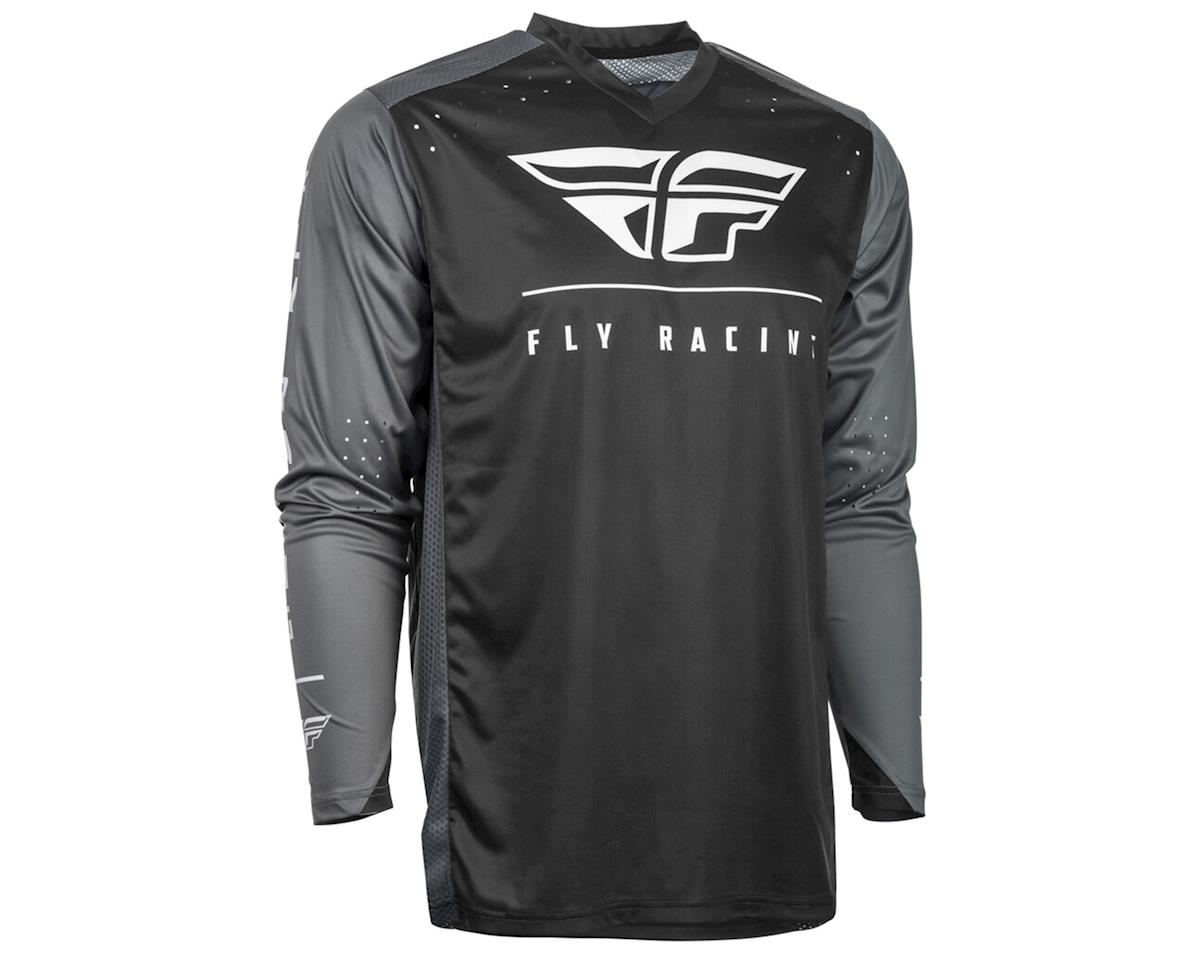 Image 1 for Fly Racing Radium Jersey (Black/Grey/White) (2XL)