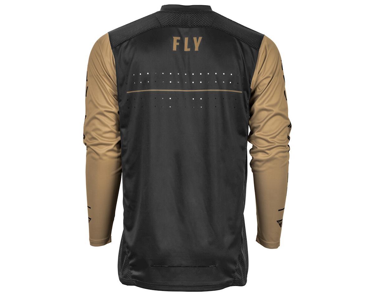 Image 2 for Fly Racing Radium Jersey (Black/Khaki) (L)