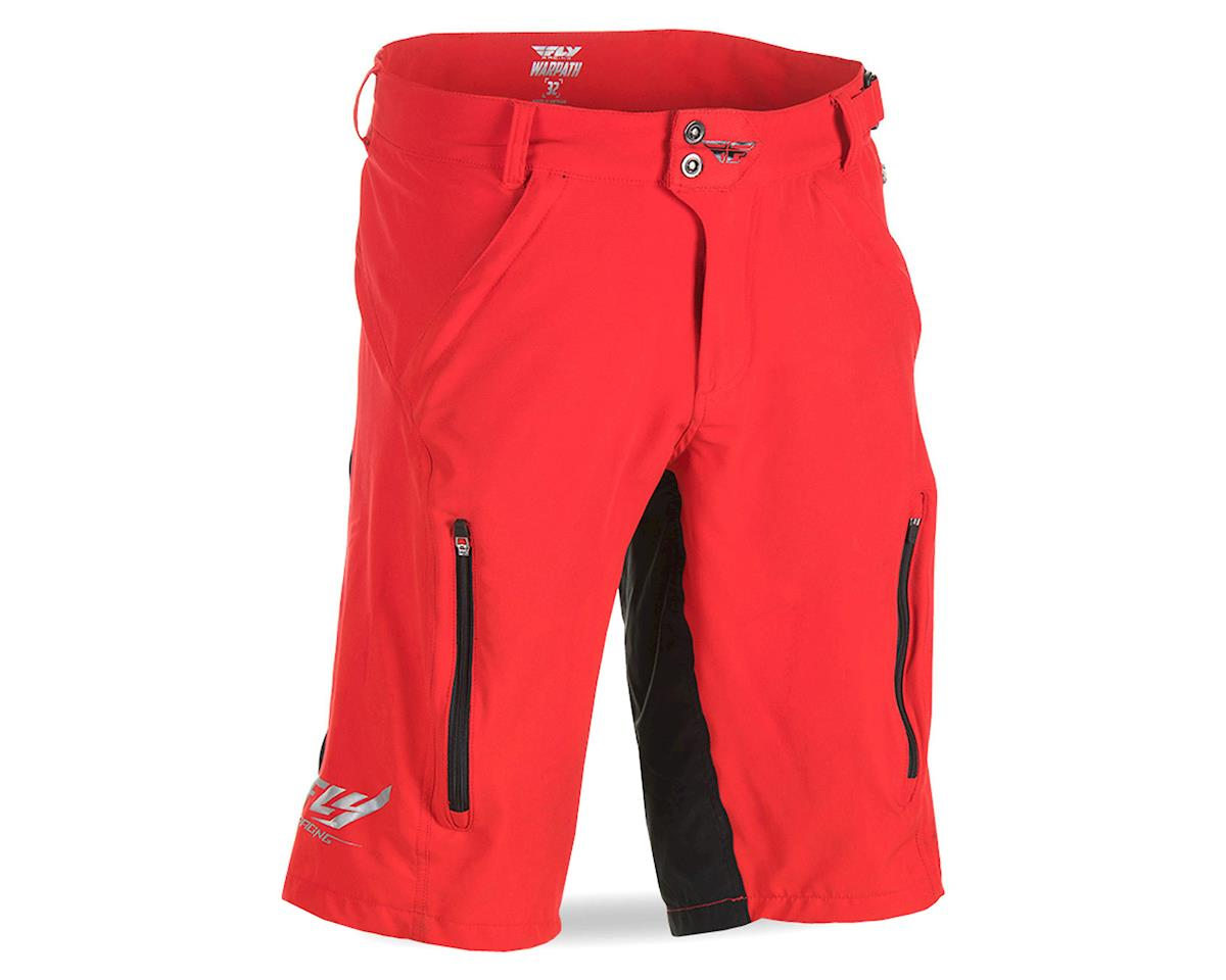 Fly Racing Warpath Mountain Bike Short (Red/Black)