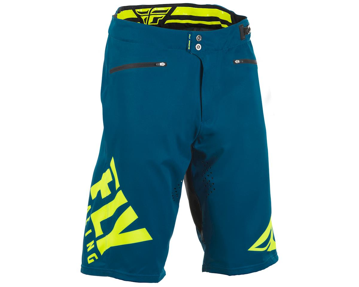 Fly Racing Radium Mountain Bike Short (Navy/Hi-Vis) (32)