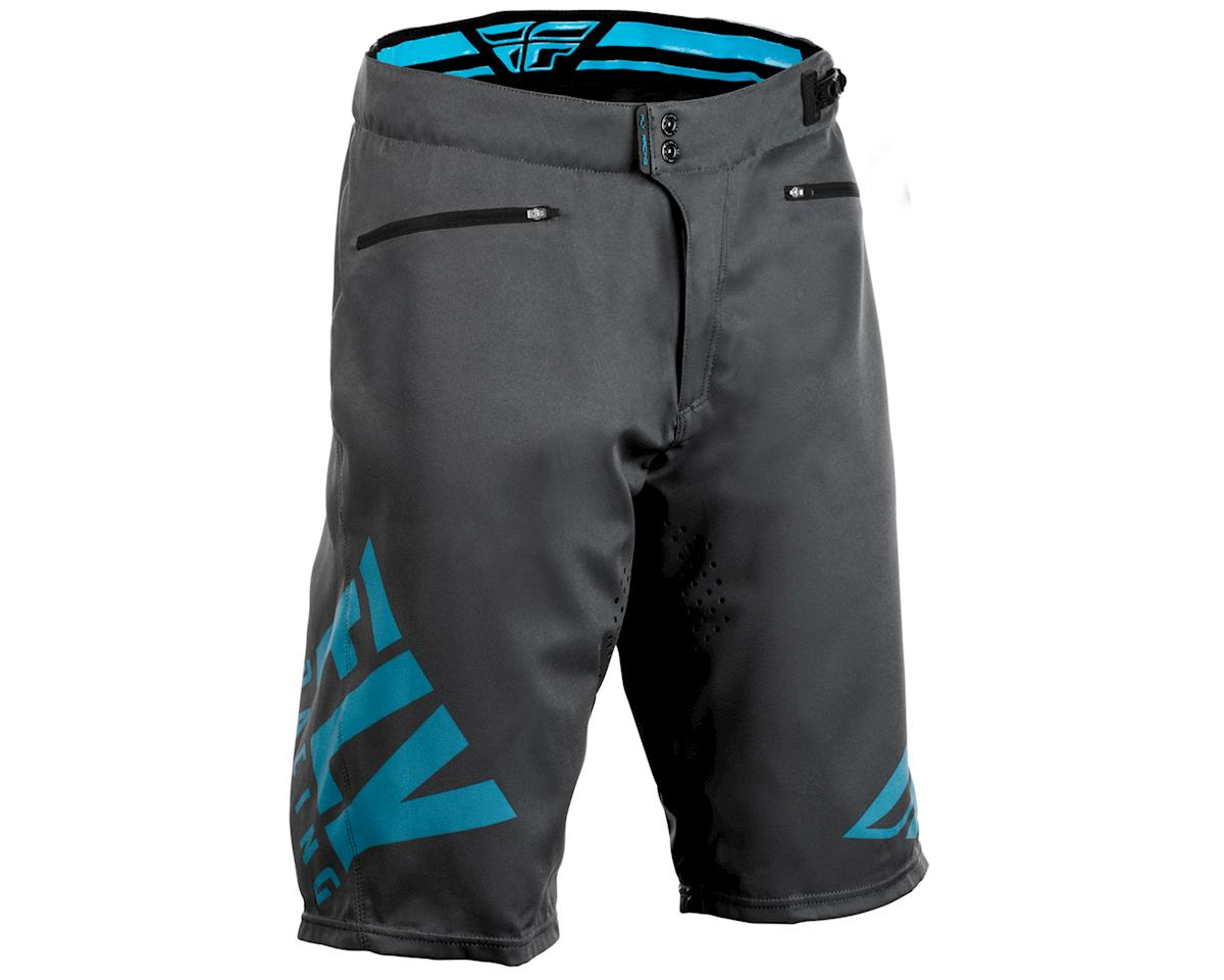 Fly Racing Radium Mountain Bike Short (Grey/Blue)