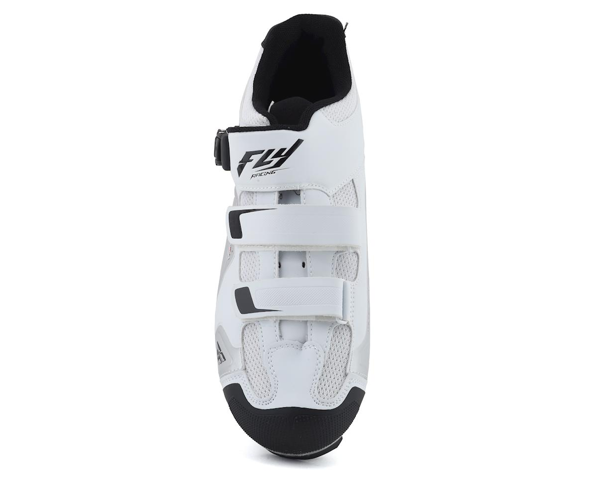 Image 3 for Fly Racing Talon RS Clipless Shoe (White/Silver) (46)