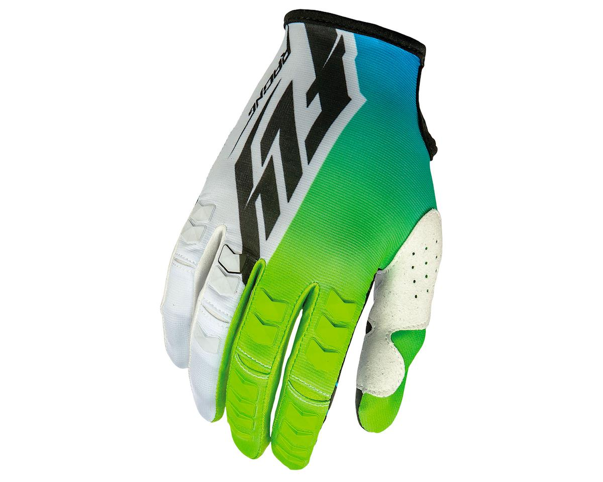 Fly Racing Kinetic MTB Glove (Lime/White)