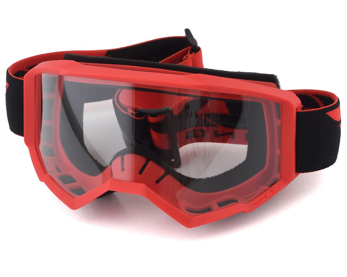 Fly Racing Focus Goggle (Red) (Clear Lens)