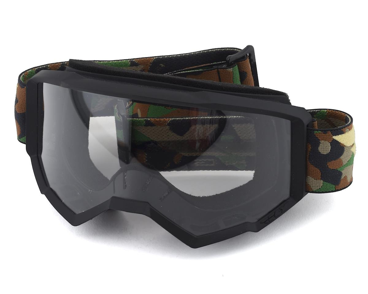 Fly Racing Focus Goggle (Camo) (Clear Lens)