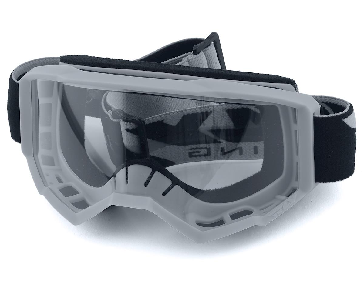 Fly Racing Focus Youth Goggle (Grey) (Clear Lens)