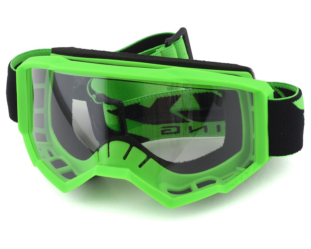 Fly Racing Focus Youth Goggle (Green) (Clear Lens)