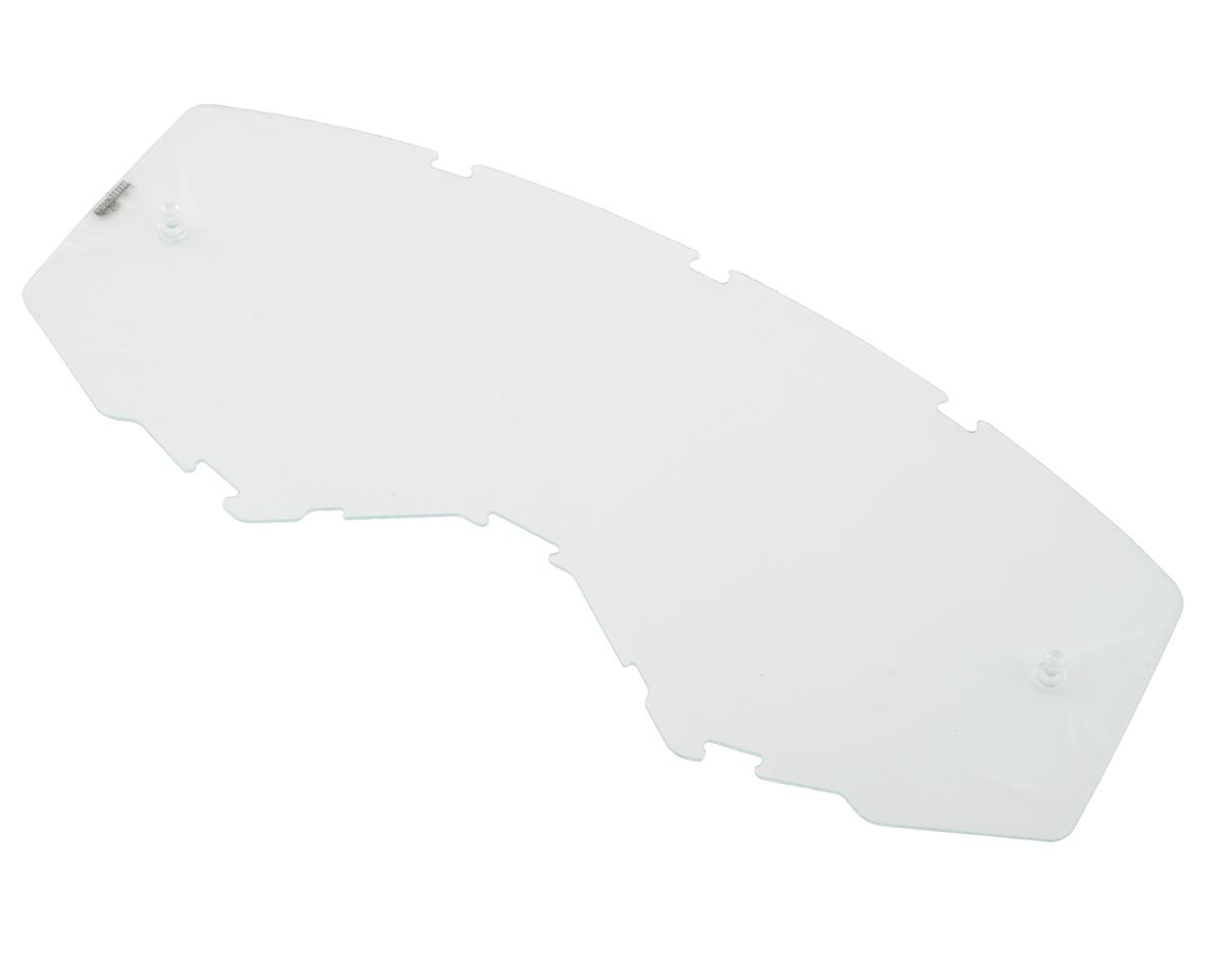 Fly Racing Zone Pro Goggle (Orange/Blue) (Blue Mirror Lens)