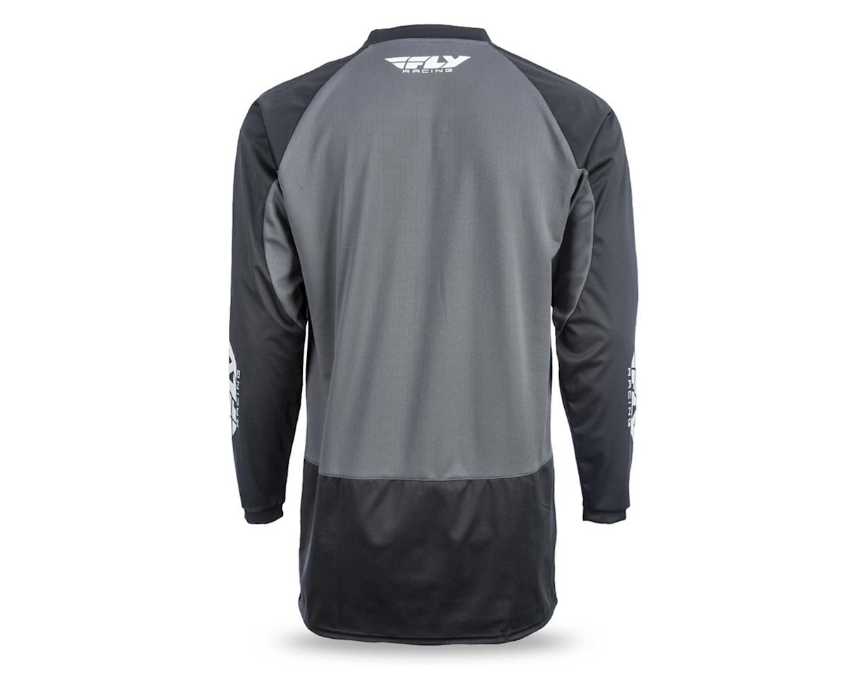 Fly Racing Windproof Technical Jersey (Black/Grey) (XL)