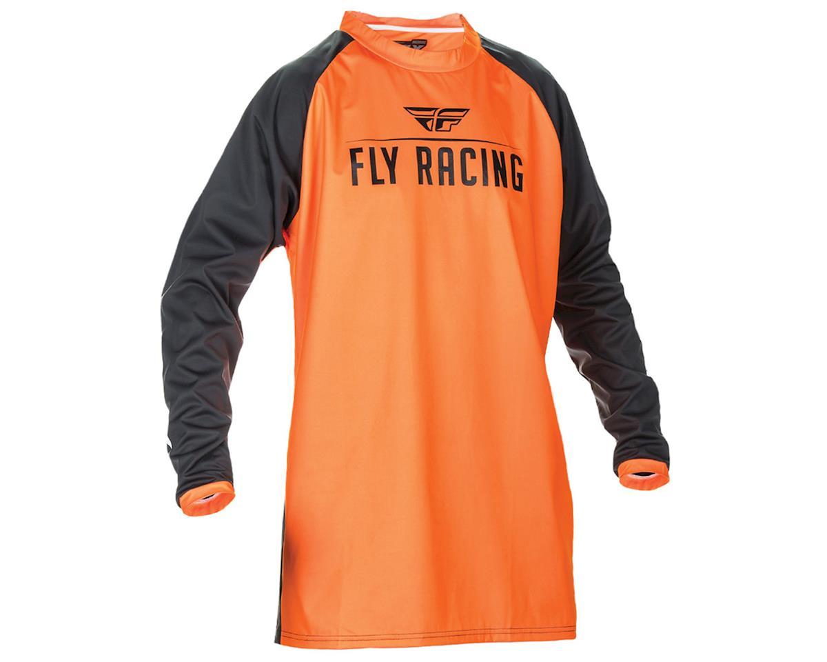 Fly Racing Windproof Technical Jersey (Flo Orange/Black) (M)