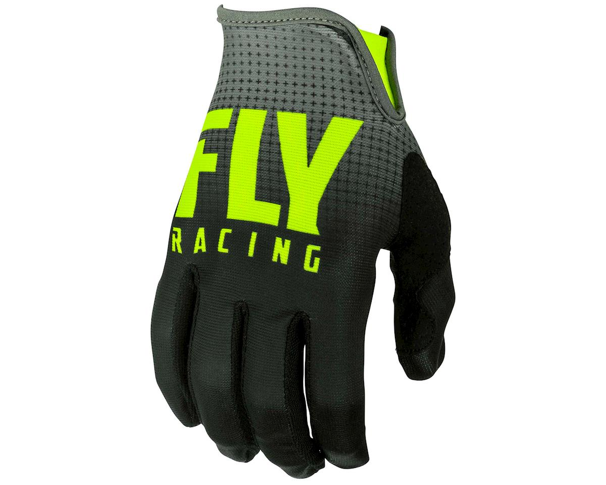 Fly Racing Lite Mountain Bike Glove (Black/Hi-Vis) (2XL)