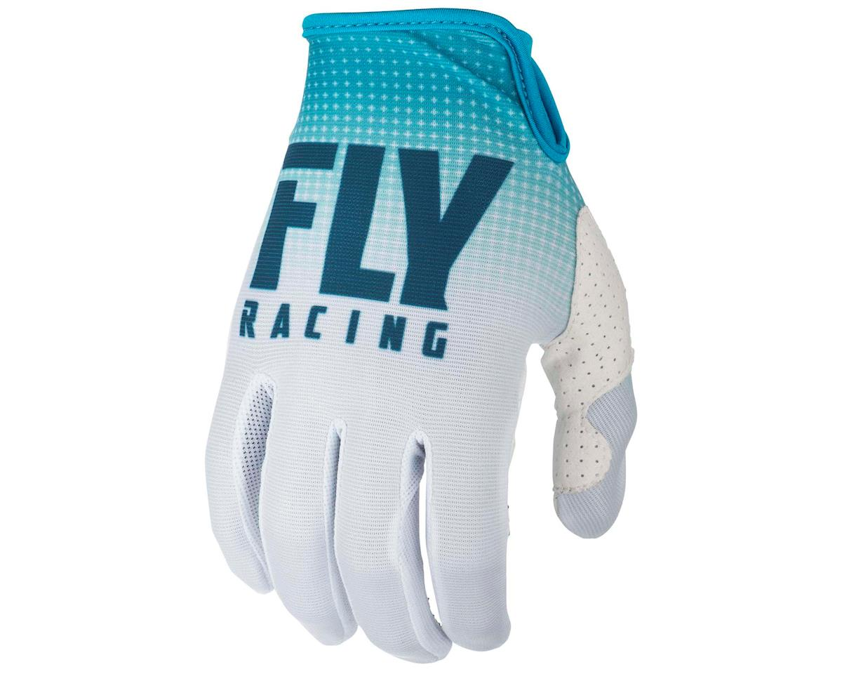 Fly Racing Lite Mountain Bike Glove (Blue/White) (L)