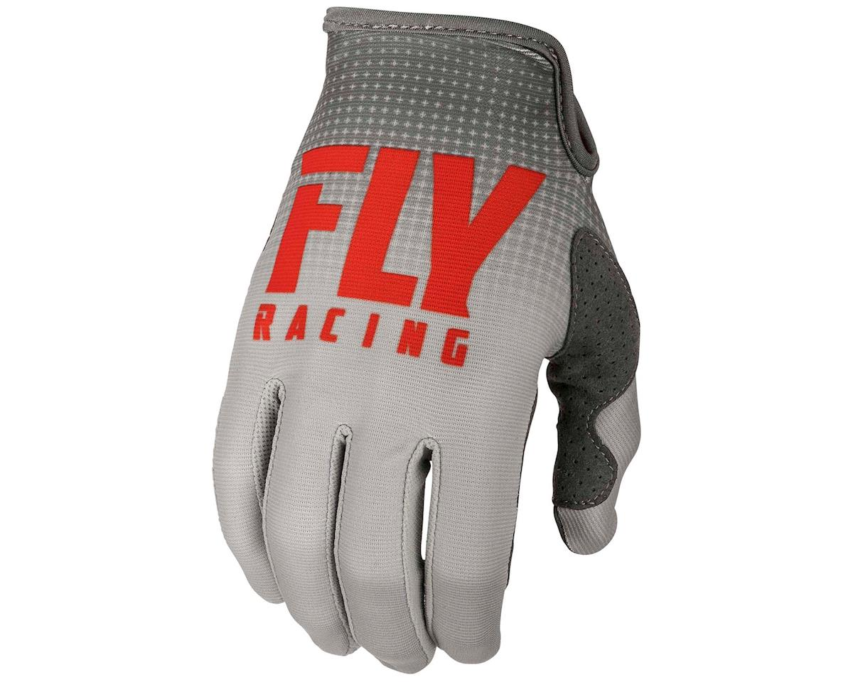 Image 1 for Fly Racing Lite Mountain Bike Glove (Red/Grey) (3XL)