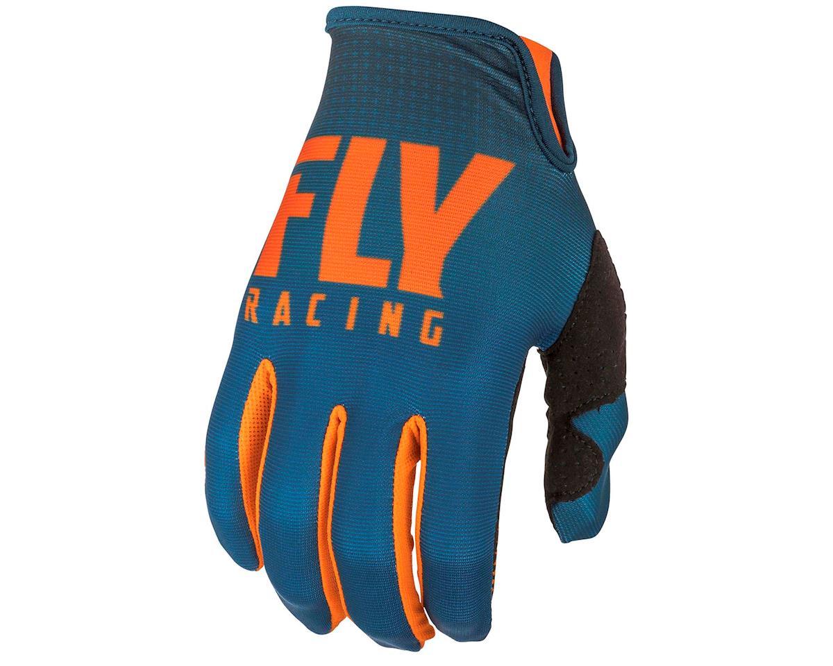 Image 1 for Fly Racing Lite Mountain Bike Glove (Orange/Navy) (2XL)