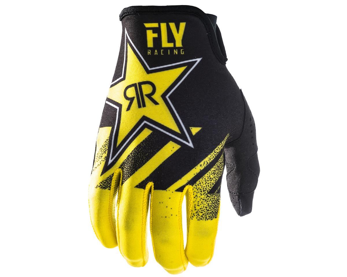 Fly Racing Lite Glove (Rockstar Yellow/Black) (XS)
