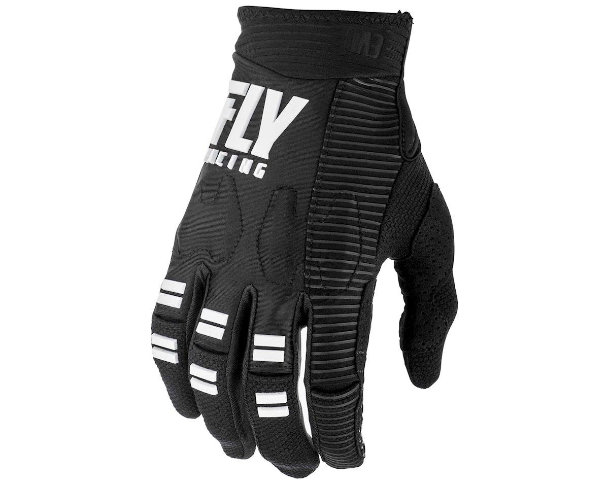 Fly Racing Evolution DST Mountain Bike Glove (Black/White) (S)