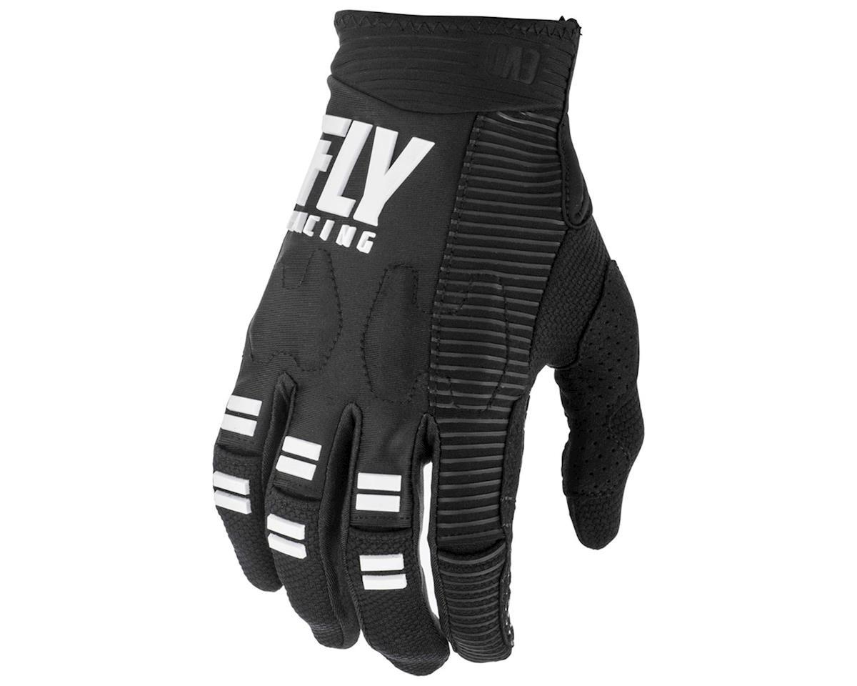 Fly Racing Evolution DST Mountain Bike Glove (Black/White) (L)