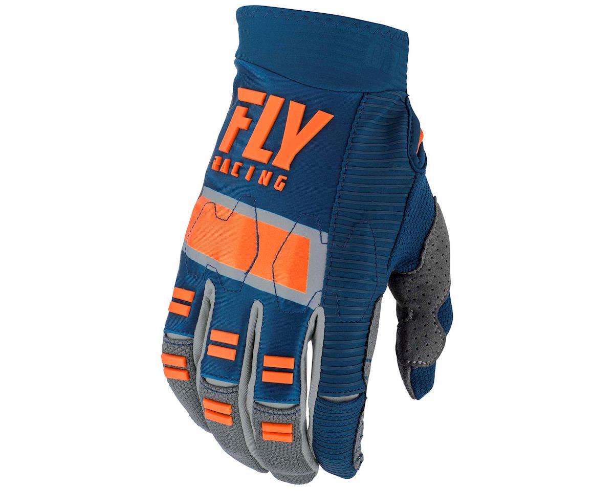 Image 1 for Fly Racing Evolution DST Mountain Bike Glove (Navy/Grey/Orange) (S)