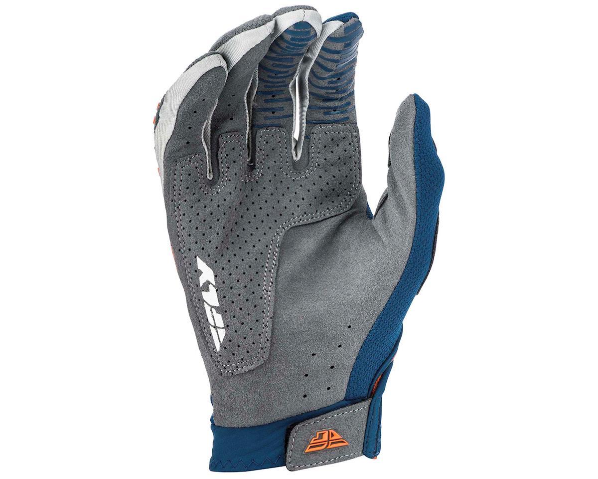 Image 2 for Fly Racing Evolution DST Mountain Bike Glove (Navy/Grey/Orange) (S)