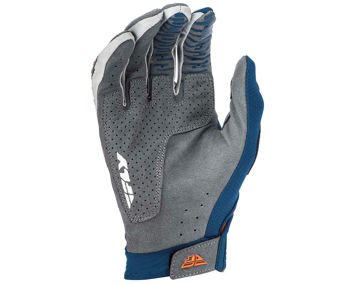 Image 2 for Fly Racing Evolution DST Mountain Bike Glove (Navy/Grey/Orange) (L)