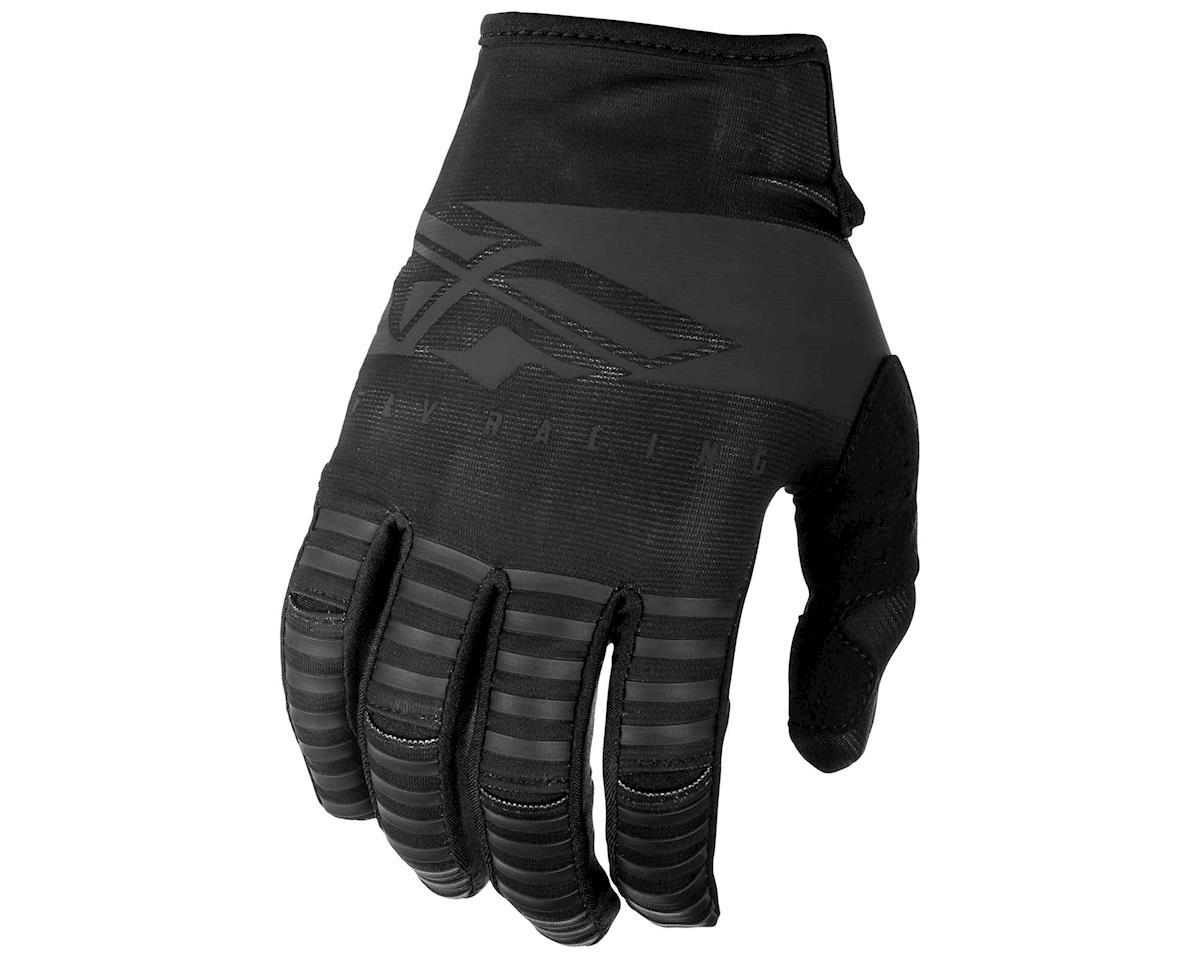 Fly Racing Kinetic Shield Mountain Bike Glove (Black) (S)