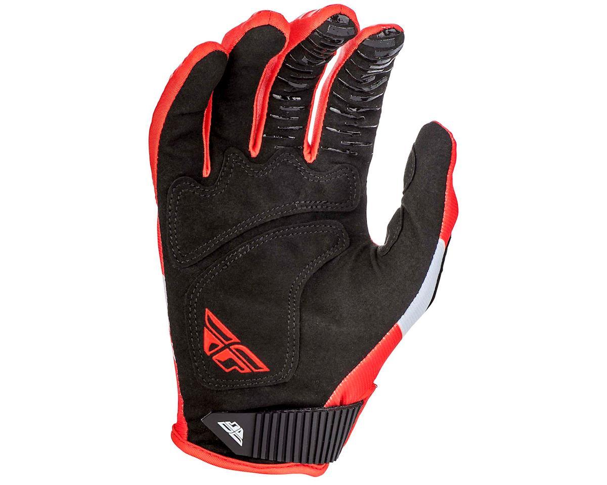 Fly Racing Kinetic Shield Mountain Bike Glove (Red/White) (L)