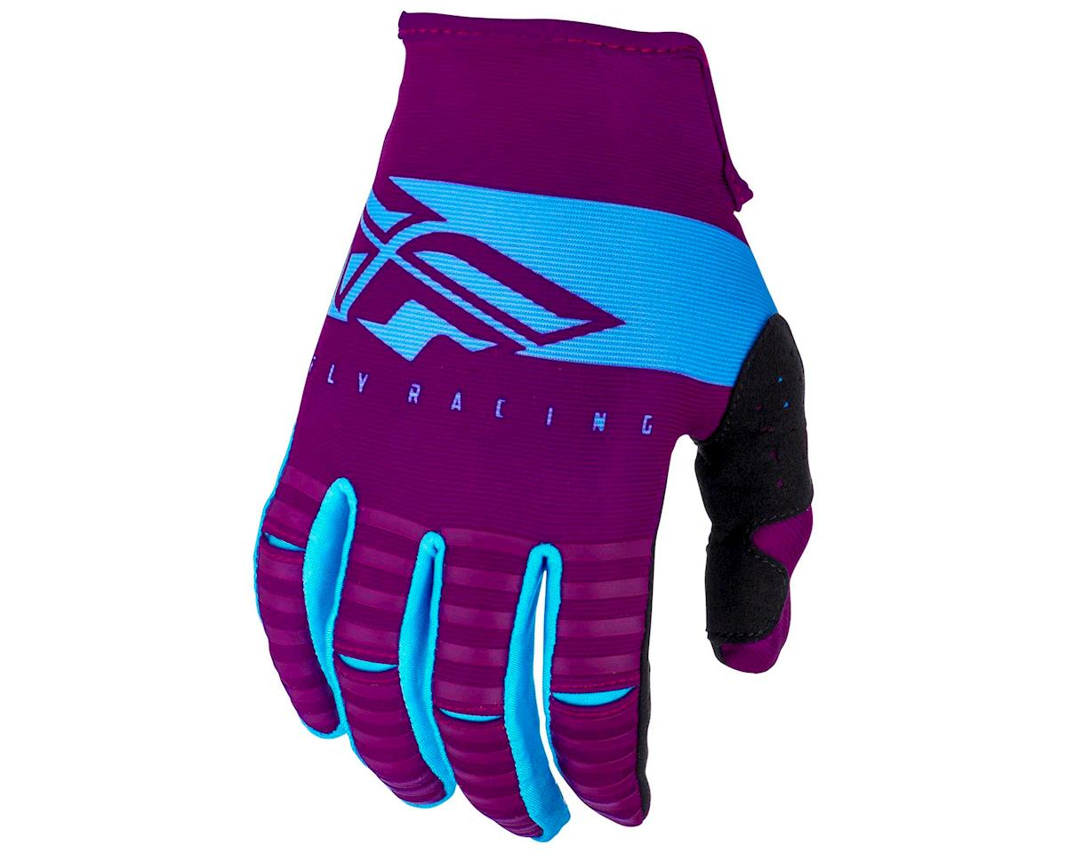 Fly Racing Kinetic Shield Mountain Bike Glove (Port/Blue) (XL)