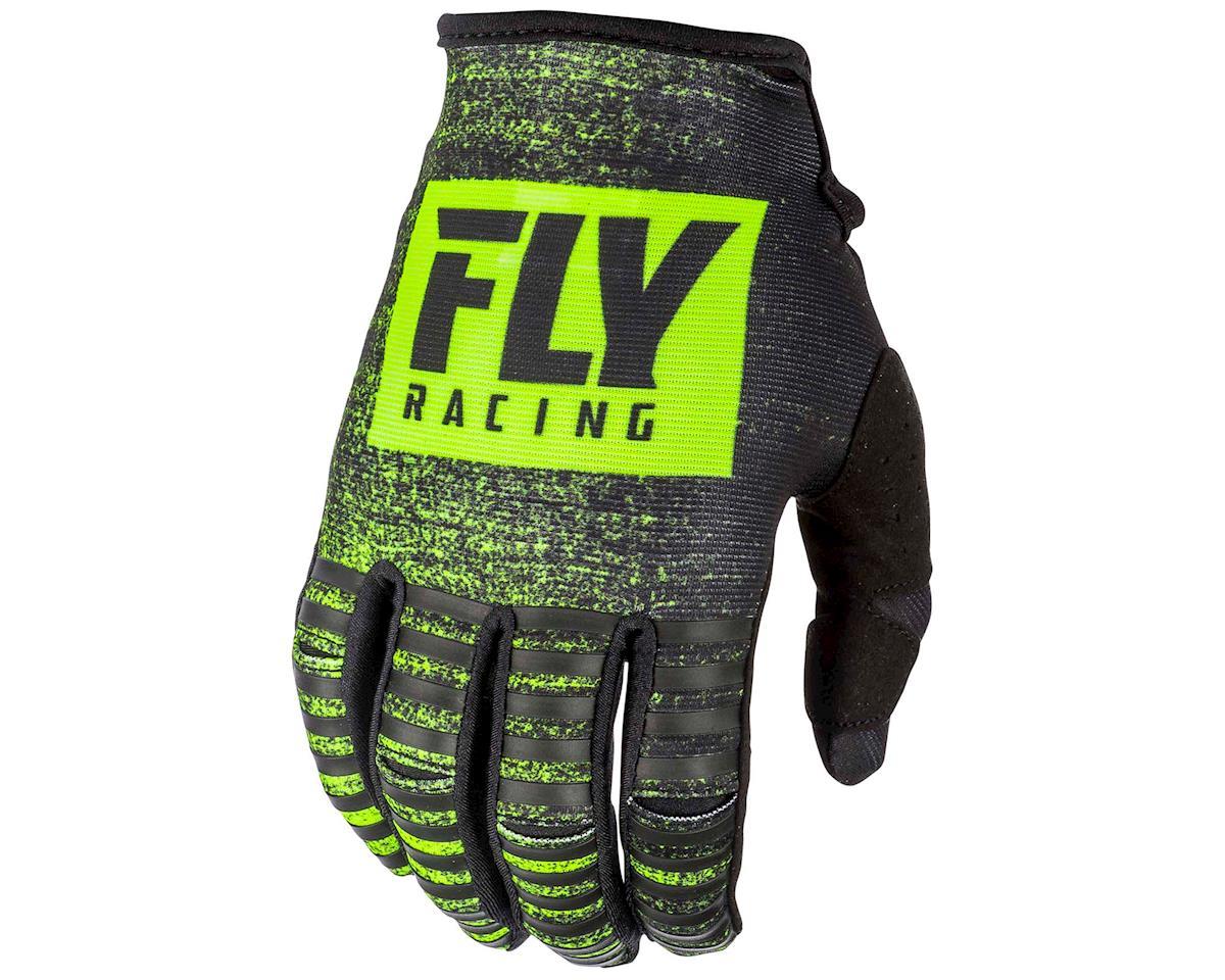 Fly Racing Kinetic Noiz Mountain Bike Glove (Black/Hi-Vis) (S)