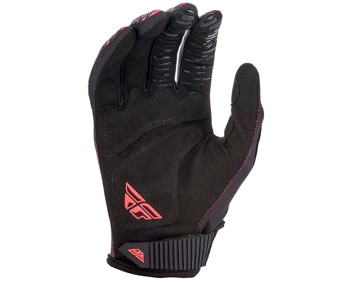 Image 2 for Fly Racing Kinetic Noiz Mountain Bike Glove (Neon Red/Black) (L)